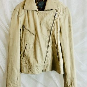 KENNA-T Soft Springtime Leather Jacket